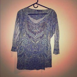 Apt 9. Long sleeved blouse